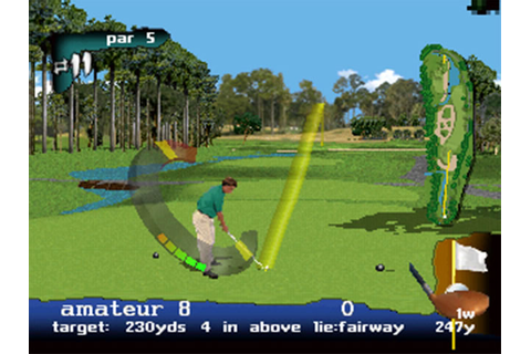 PGA Tour 97 Review for Sega Saturn (1996) - Defunct Games