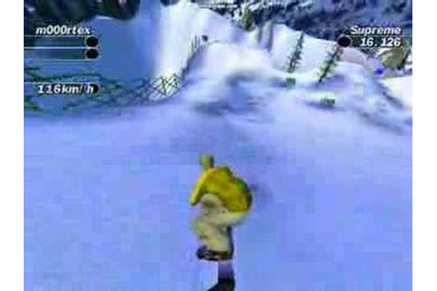 Supreme Snowboarding pc game - YouTube