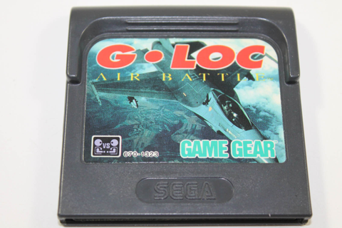 G-LOC Air Battle - Sega Game Gear