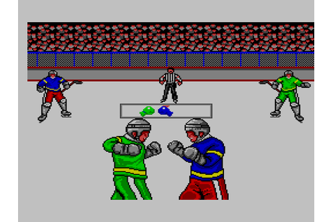 Slap Shot / SIMS / Master System / 1990 / Sega Does