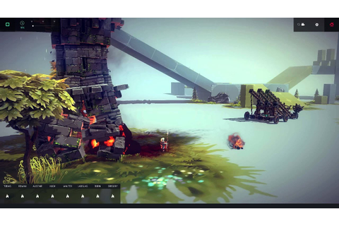 Besiege Game of Thrones Song Catapult - YouTube