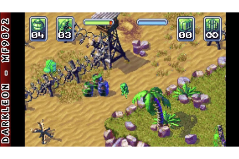 Game Boy Advance - Army Men - Operation Green © 2001 3DO ...