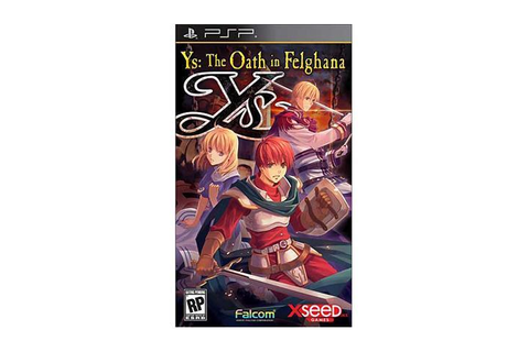 Ys: The Oath in Felghana PSP Game XSEED Games - Newegg.com