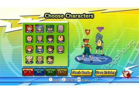 Inazuma Eleven Strikers - Download Free Full Games ...