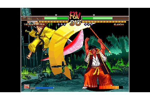 ACA NEOGEO SAMURAI SHODOWN V SPECIAL Game | PS4 - PlayStation