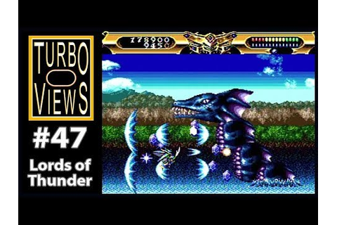 """Lords of Thunder"" - Turbo Views #47 (TurboGrafx-16 / Duo ..."