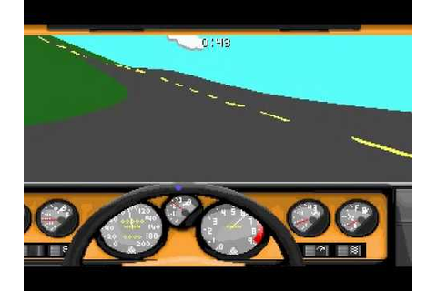 Stunts DOS Game - YouTube