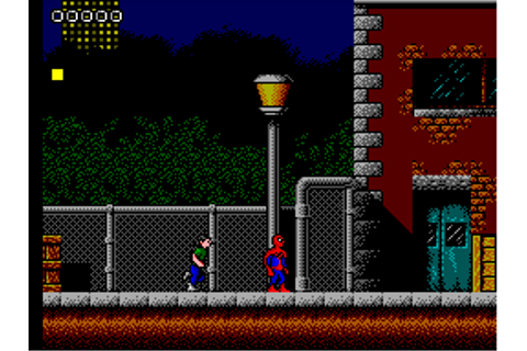 Spider-Man - Return of the Sinister Six (Europe) ROM