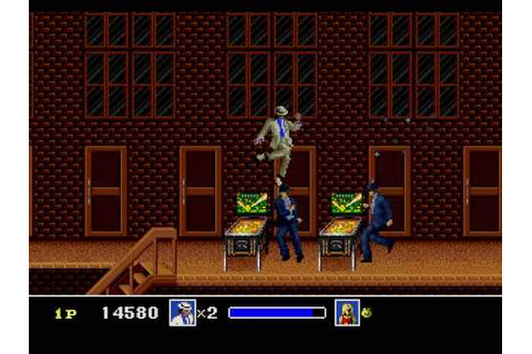 Michael Jackson's Moonwalker for Sega Genesis - YouTube
