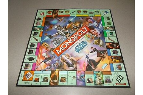 Monopoly Star Wars The Clone Wars Game Board Only ...