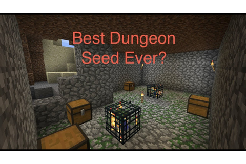 """Best Dungeon Seed Ever?"" Minecraft 1.5.2 - YouTube"