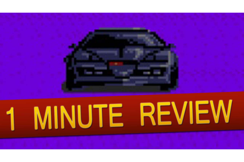 PC Engine - Knight Rider Special (1 Minute Review) - YouTube