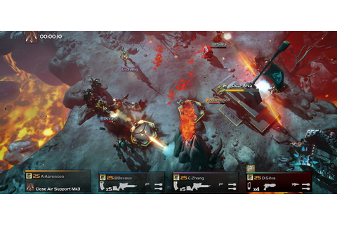 Helldivers: Magicka Devs' Co-op Shooter Coming To PC ...
