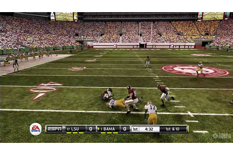NCAA Football 11 Review [HD] - YouTube