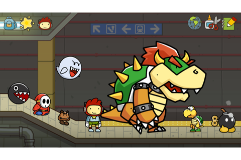 E3 2012: Scribblenauts Unlimited Drawn Into Wii U and 3DS ...