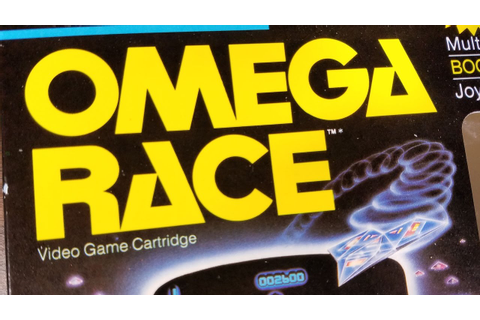 Classic Game Room - OMEGA RACE review for Atari 2600 - YouTube