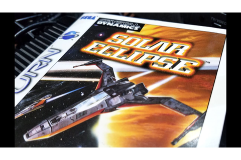 Classic Game Room - SOLAR ECLIPSE review for Sega Saturn ...