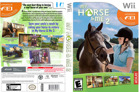 My Horse and Me 2 (Riding for Gold) horse game for PC, PS2 ...