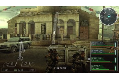 SOCOM: U.S. Navy SEALs Tactical Strike - PSP - Preview