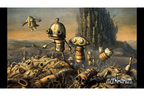 Machinarium - Official Trailer - YouTube