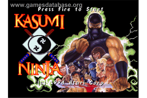 Kasumi Ninja - Atari Jaguar - Games Database