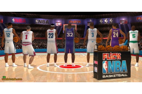 Exclusive Screenshots from Freeverse's 'Flick NBA ...
