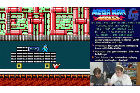 We Play Your Mega MAN Maker Levels Live! #16 - YouTube