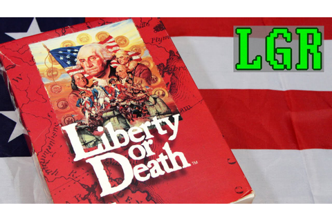 LGR - Liberty or Death - DOS PC Game Review - YouTube
