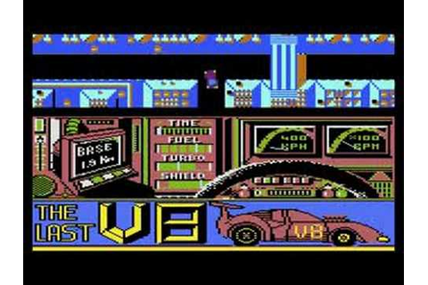 Atari 8bit game - Last V8 - Full game - YouTube