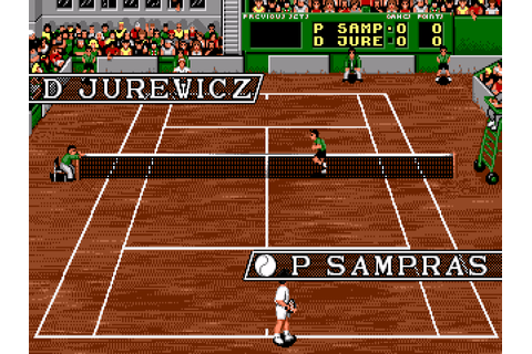 Pete Sampras Tennis - Super Gaby Games