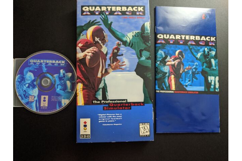 Quarterback Attack with Mike Ditka Pansonic 3DO EX+NM ...