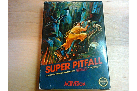 Super Pitfall Nintendo Nes Game Complete In Box by ...