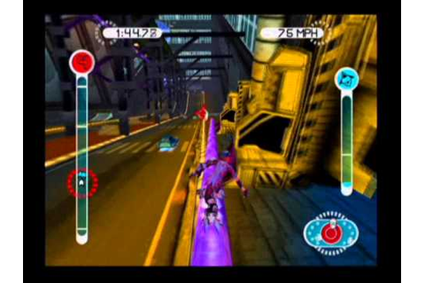 EyeToy Antigrav Ps2 Gameplay With Commentary - YouTube