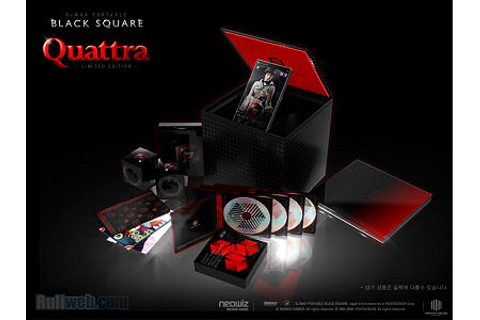 DJ Max Portable Black Square ~ Quattra ~ Limited Edition ...