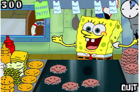 Spongebob Squarepants Krabby Patty Game Flip Or Flop ...