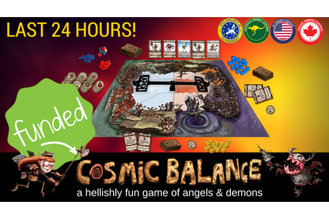 Cosmic Balance Strategy Boardgame of Angels and Demons by ...