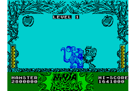 Ninja Hamster (1987) by CRL ZX Spectrum game