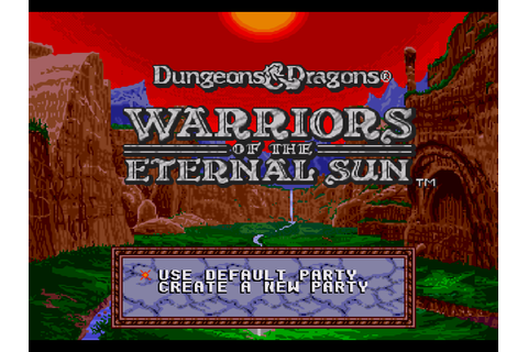 D&D - Warriors of the Eternal Sun Screenshots | GameFabrique