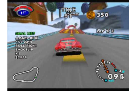 Stunt Racer 64 Game Sample - N64 - YouTube