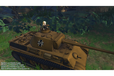 Girls Und Panzer: Dream Tank Match DX (Switch eShop) Game ...
