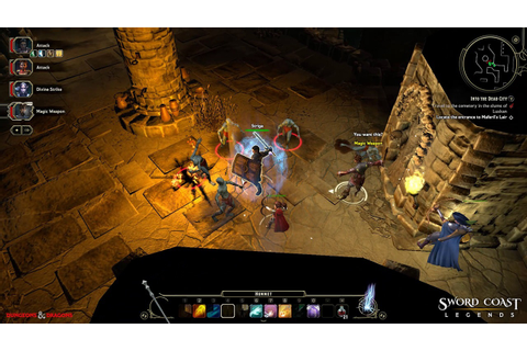 Sword Coast Legends Brings The Dungeons and Dragons ...