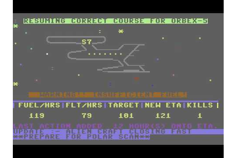 C64 Game: Alien Attack (Unknown Publisher) - YouTube