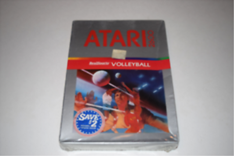 RealSports Volleyball Atari 2600 Video Game New in Box | eBay