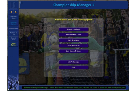 Download Championship Manager 4 (Windows) - My Abandonware