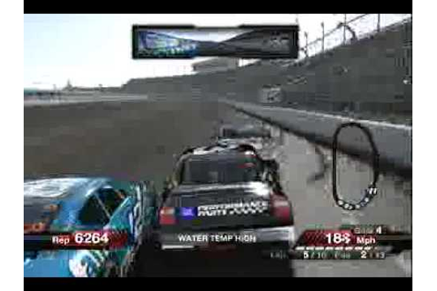 Nascar 09 Game play - YouTube