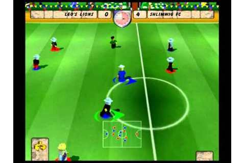 LEGO Football Mania PS2 gameplay (2 Player Story) Soccer ...