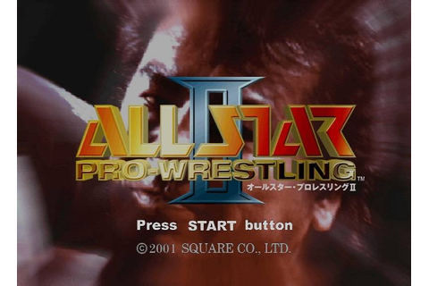All Star Pro-Wrestling II Details - LaunchBox Games Database
