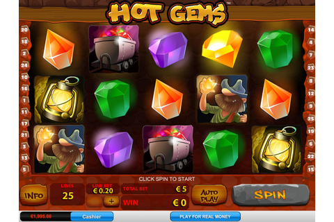 Hot Gems ™ Slot Machine - Play Free Online Game - Slotu.com