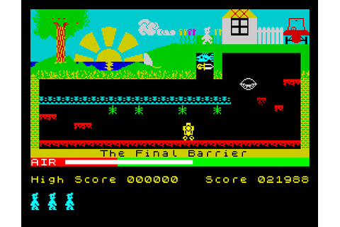 My all time favourite video games: Manic Miner - Sinclair ...