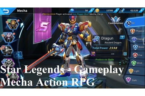 Star Legends (Dreamsky) - Gameplay (Mecha Action RPG) 2018 ...